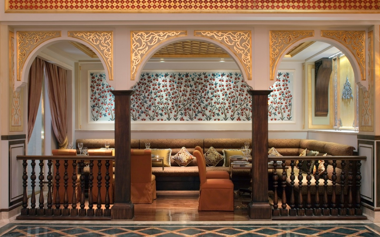 Jumeirah Zabeel Saray - Lalezar Seating Area_Waichings Wall