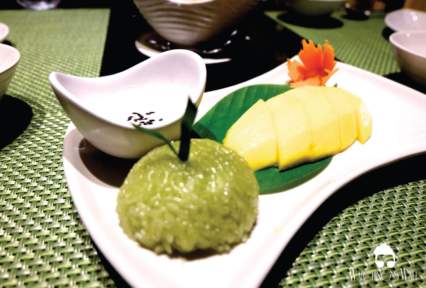 Dusit Thani_Benjarong_Abu Dhabi_Mango Sticky Rice_Waichings Wall