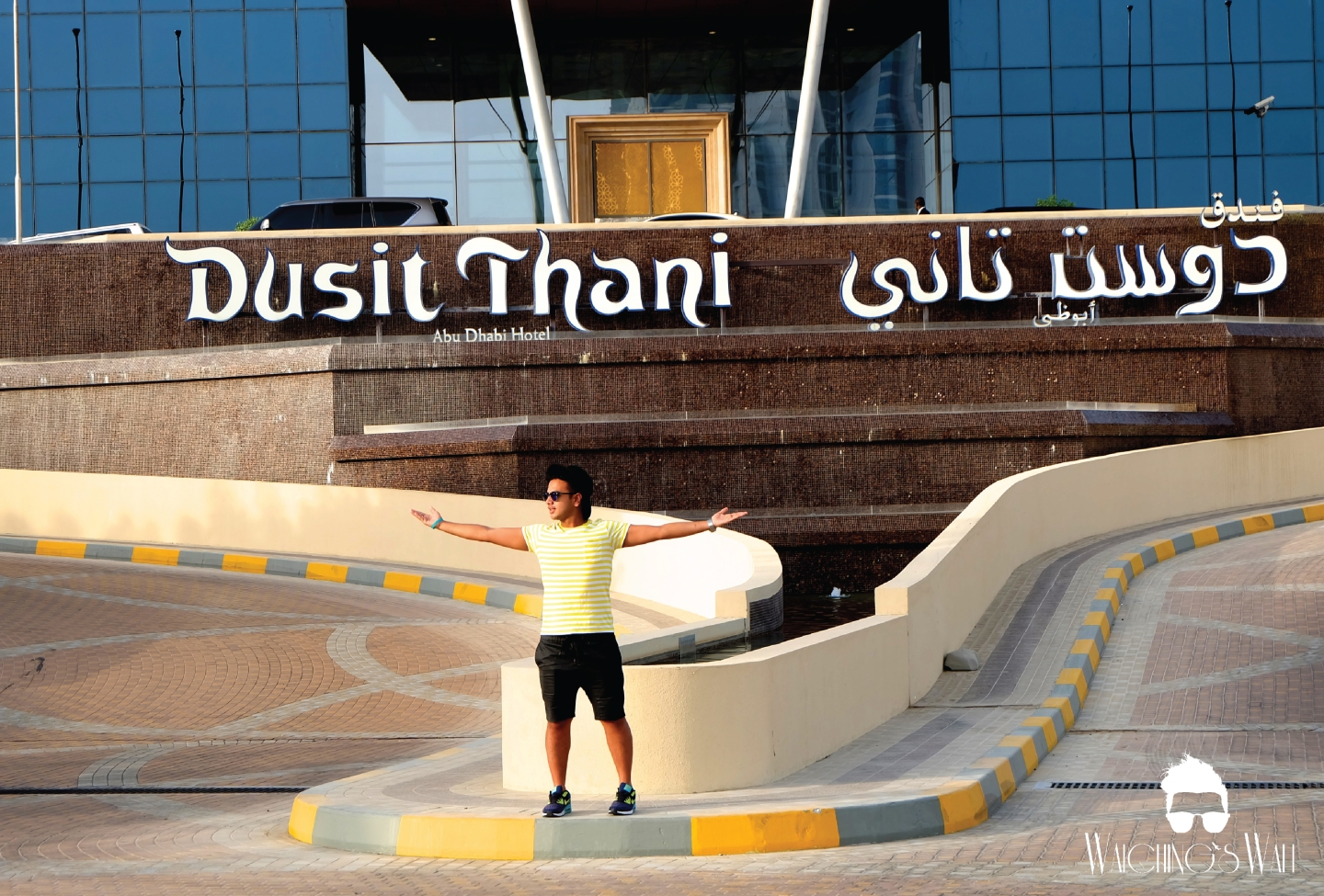 Dusit Thani_Hotel and Welcome_Waiching's Wall-11
