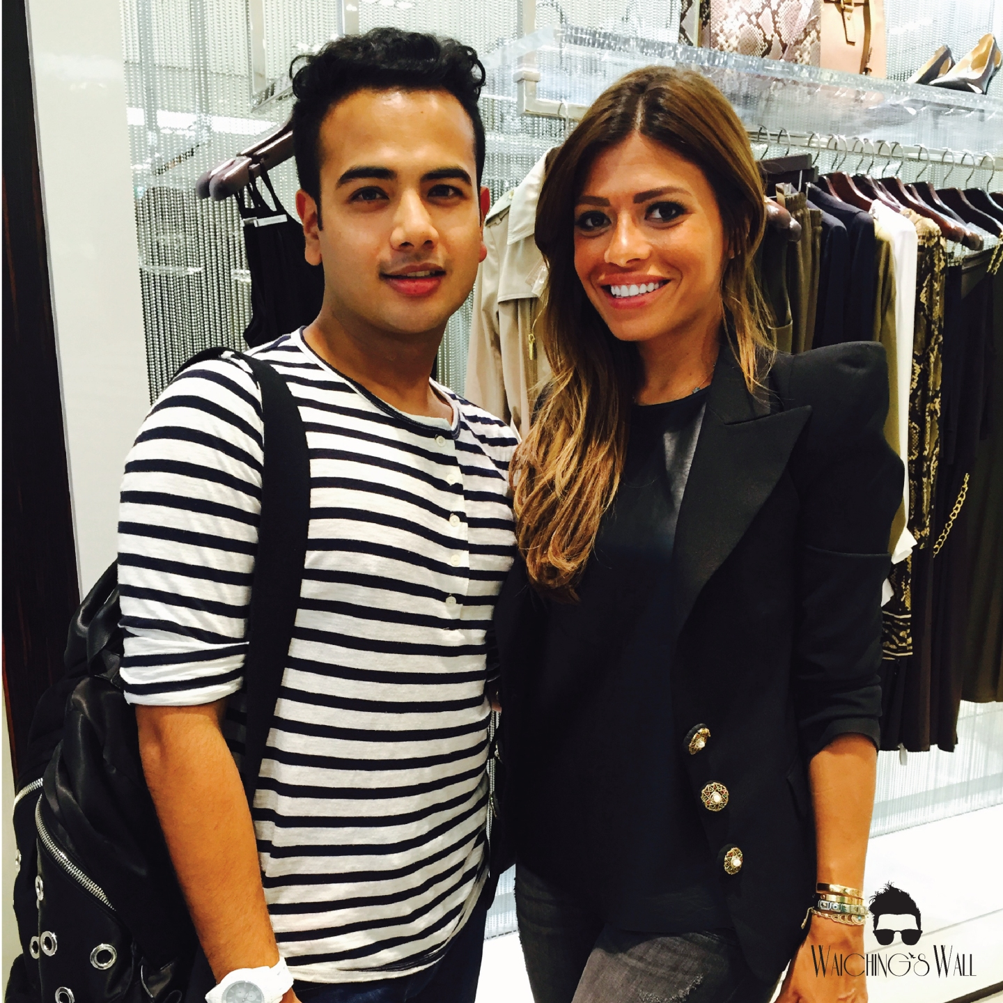 Michael Kors Event Mall of The Emirates_Waichings Wall with Lady Fozzaza-03